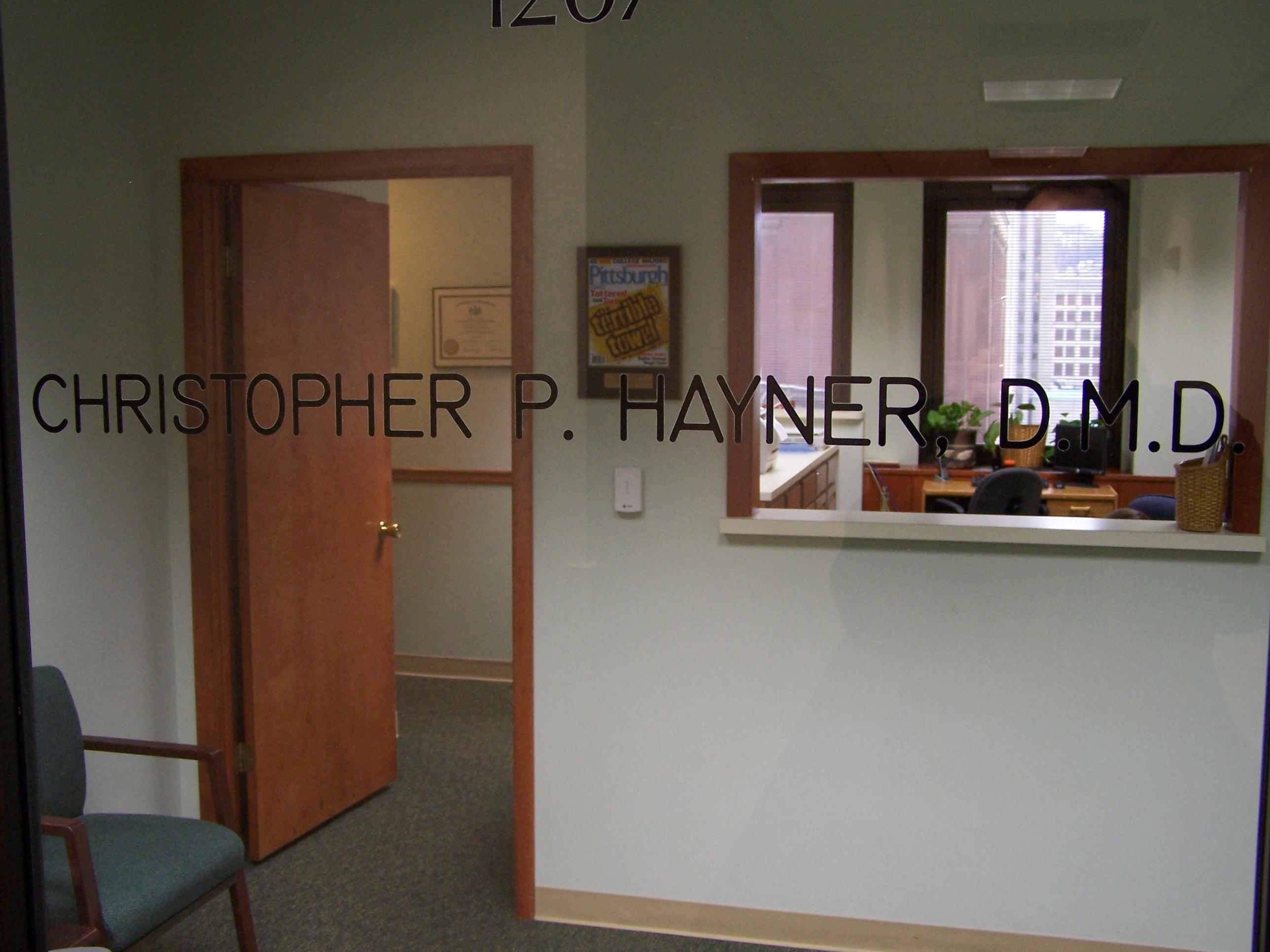 hayner dental office