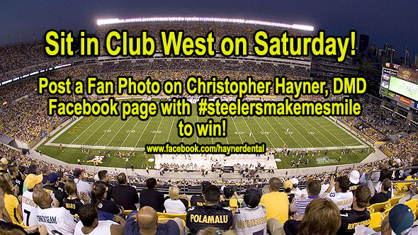 Win Steeler Tickets for Saturday – in Club West!