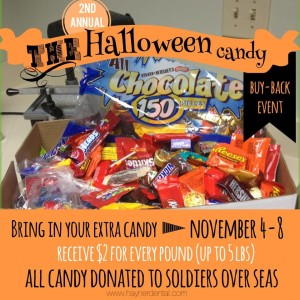 2nd Annual Halloween Candy Buy Back Event