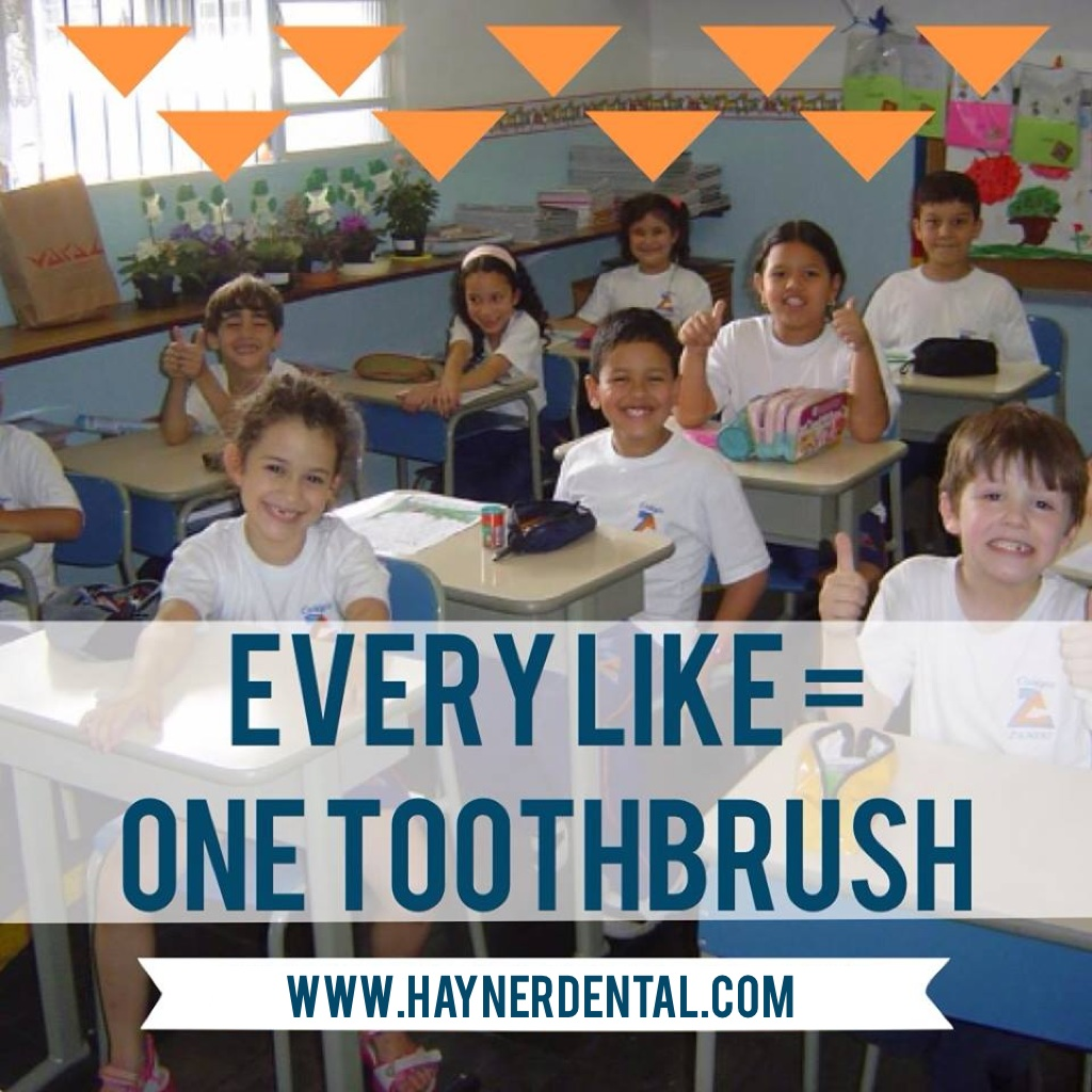 toothbrushes for pittsburgh school children